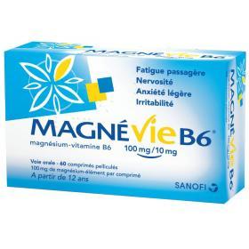 SANOFI Magnévie b6 60 comprimés