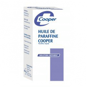 Huile de paraffine solution buvable en flacon 500ml