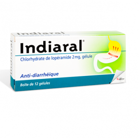 GIFRER Indiaral 2mg 12 gélules