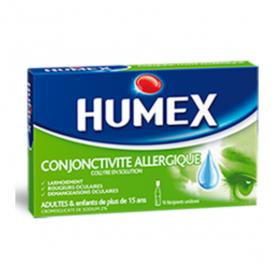HUMEX Conjonctivite allergique 2% 10 unidoses