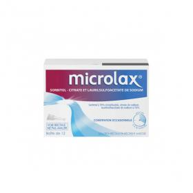 Microlax solution rectale 12 unidoses