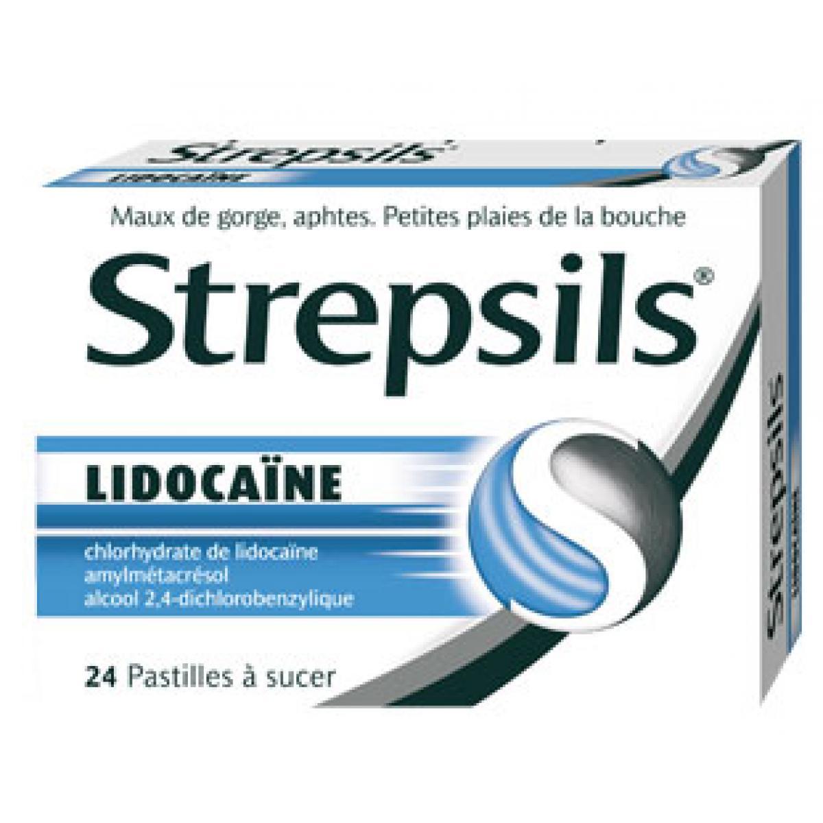 pastille gorge lidocaine