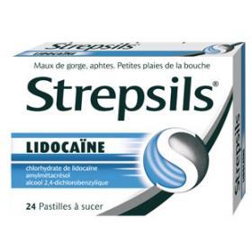 RECKITT BENCKISER Strepsils lidocaine 24 pastilles