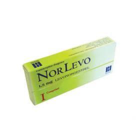 Norlevo 1,5mg 1 comprimé