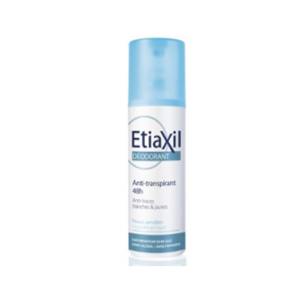 etiaxil d odorant anti transpirant 48h spray 100ml parapharmacie pharmarket. Black Bedroom Furniture Sets. Home Design Ideas