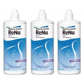 BAUSCH + LOMB Renu mps multi-fonction lot de 3x360ml