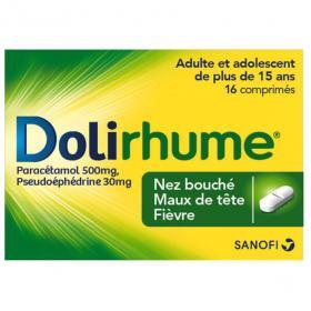 DOLIPRANE Doli rhume 16 comprimés