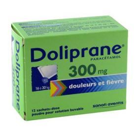 DOLIPRANE 300mg 12 sachets