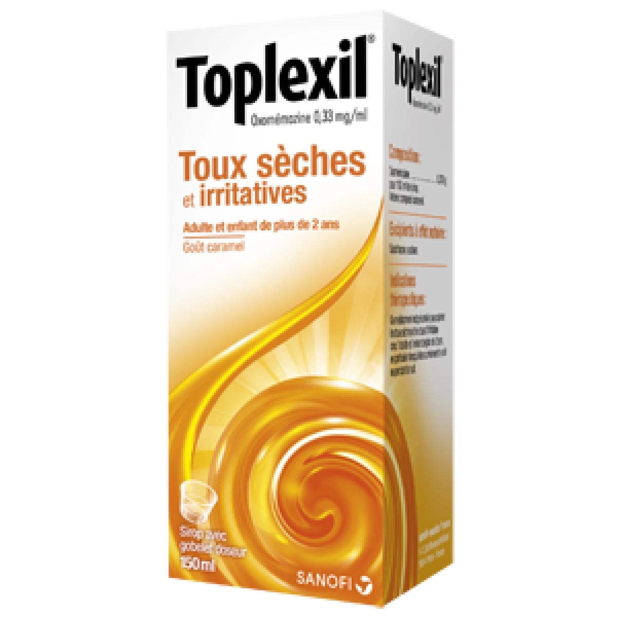 toplexil 0 33mg ml sirop 150ml dans toux s che sur pharmarket. Black Bedroom Furniture Sets. Home Design Ideas