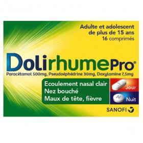 DOLIPRANE Doli rhume pro 16 comprimés