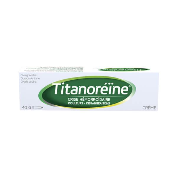 Titanoreine crème 40g dans Hémorroïdes sur Pharmarket