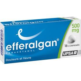 EFFERALGAN 500mg 16 comprimés