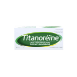JOHNSON & JOHNSON Titanoreine 12 suppositoires