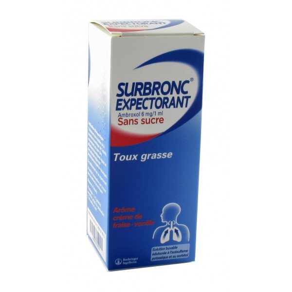boehringer ingelheim surbronc expectorant sans sucre 100ml m dicaments pharmarket. Black Bedroom Furniture Sets. Home Design Ideas