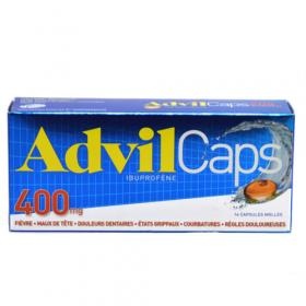 PFIZER Advilcaps 400mg 14 caps