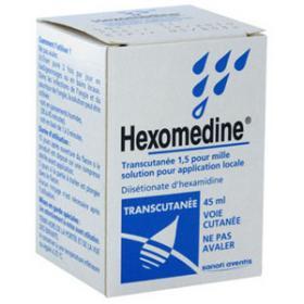 SANOFI Hexomedine transcutané 45ml