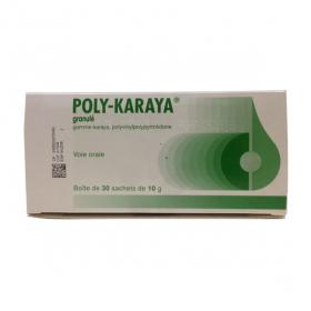 Poly-karaya granulé 30 sachets