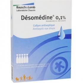 BAUSCH + LOMB LABORATOIRE CHAUVIN Desomedine 0.1% collyre 10 unidoses de 0.6ml