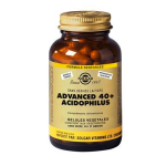 SOLGAR Advanced 40 plus acidophilus 120 gélules végétales