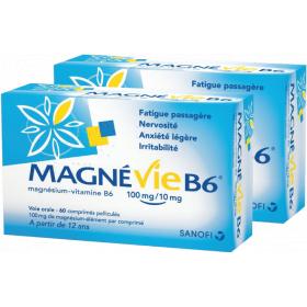 Magnévie b6 2x60 comprimés
