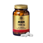 SOLGAR Msm 1000mg 60 tablets