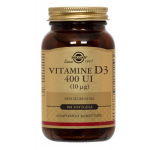 SOLGAR Vitamine d3 400 ui 100 softgels