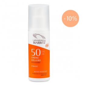 LABORATOIRES DE BIARRITZ Algamaris crème solaire visage bio spf 50 50 ml