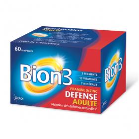 3 défense adulte 60 comprimés