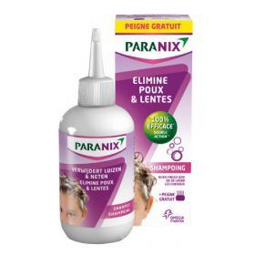 OMEGA PHARMA Paranix shampoing anti-poux 200ml + peigne