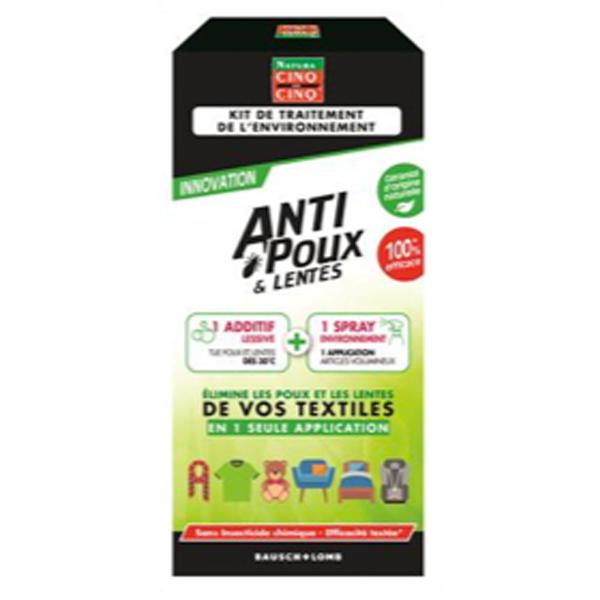 Cinq sur cinq anti poux et lentes traitement environnement for Aphte traitement maison