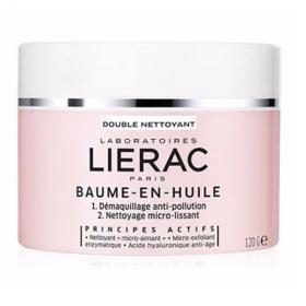 LIERAC Baume-en-huile double nettoyant pot 120g