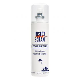 INSECT ECRAN Anti-moustique zones infestées spray 100ml