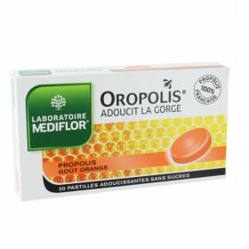 MEDIFLOR Oropolis orange 20 pastilles