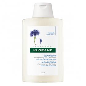 KLORANE Centaurée shampooing reflets nuance argentée 400ml