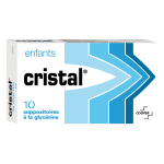 COOPER Cristal enfant 10 suppositoires