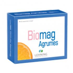 LEHNING Biomag agrumes 90 comprimés à croquer