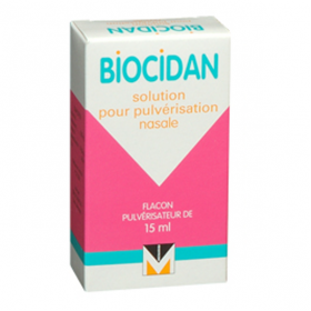 MENARINI FRANCE Biocidan solution pour pulvérisation nasale 15ml