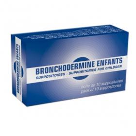 SERP Bronchodermine enfant 10 suppositoires