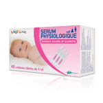 EVOLUPHARM Baby look sérum physiologique 40 unidoses de 5ml