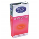 PROTEX CONDOMS Anatomic rose 6 unités