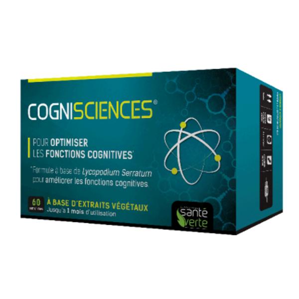 sante verte cognisciences 60 comprim s parapharmacie pharmarket. Black Bedroom Furniture Sets. Home Design Ideas