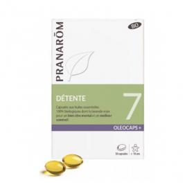 PRANAROM Oléocaps 7 sommeil et stress passager 30 capsules