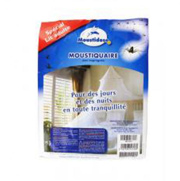 moustidose moustiquaire lit adulte 1 unit parapharmacie pharmarket. Black Bedroom Furniture Sets. Home Design Ideas