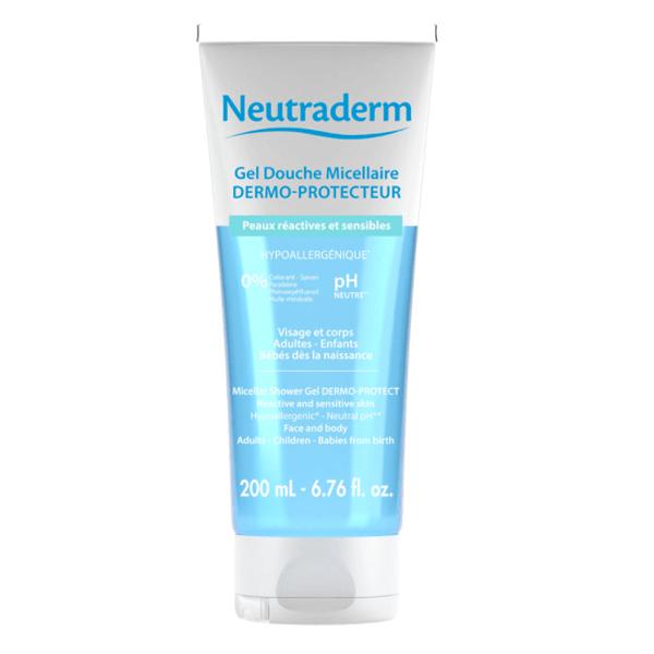 neutraderm gel douche micellaire dermo protecteur 200ml parapharmacie pharmarket. Black Bedroom Furniture Sets. Home Design Ideas