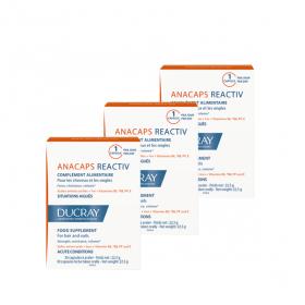 DUCRAY Anacaps reactiv lot de 3x30 gélules