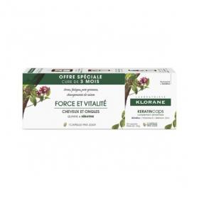 KLORANE KeratinCaps 30 capsules lot de 3