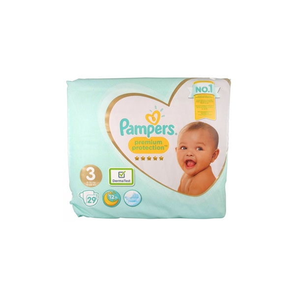 Pampers active fit taille 3 28 couches parapharmacie pharmarket - Couches pampers taille 3 ...