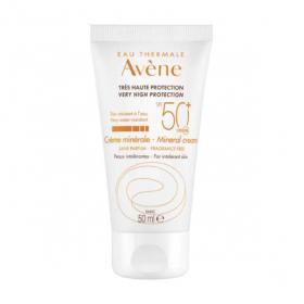 AVÈNE Solaire crème minérale spf50+ 50ml